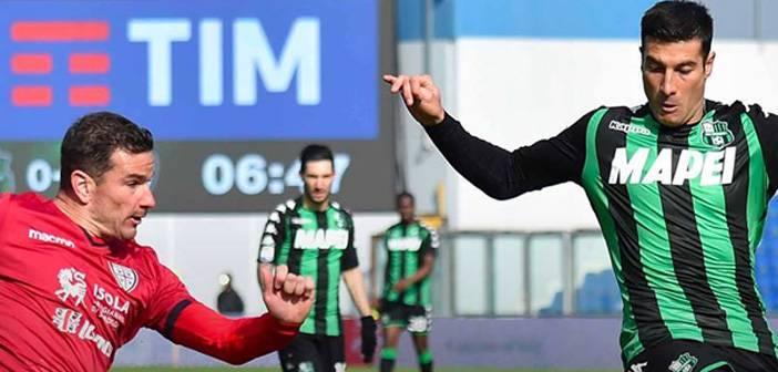 Serie A, parità tra Sassuolo e Cagliari