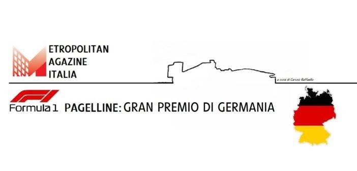 GP di Germania: le pagelline di Metropolitan Magazine Italia.