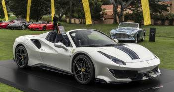Ferrari 488 Pista Spider a Pebble Beach