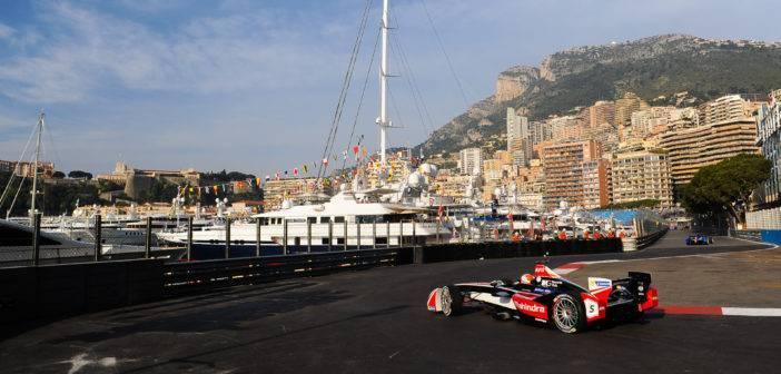 Karun Chandock Monaco ePrix