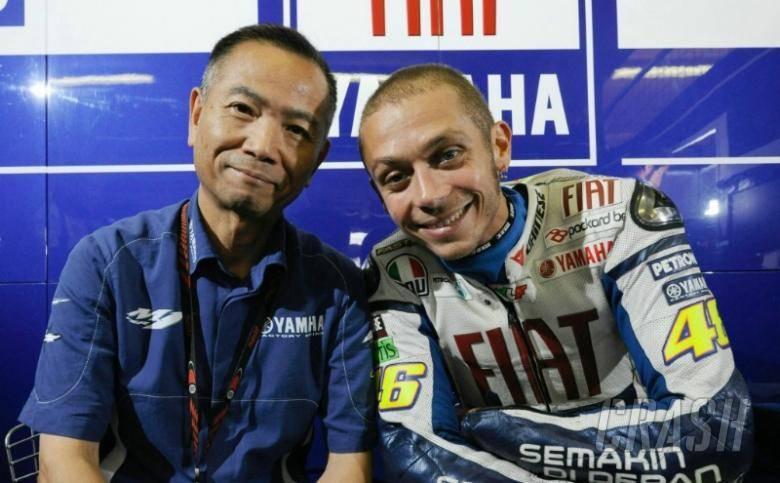Masao Furusawa e Valentino Rossi