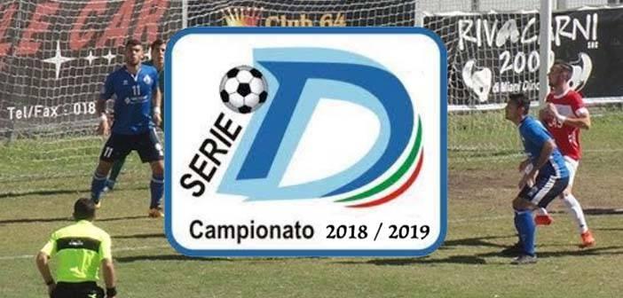 Serie D, domenica la prima giornata
