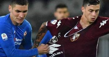Serie A, parità tra il Toro e la Viola