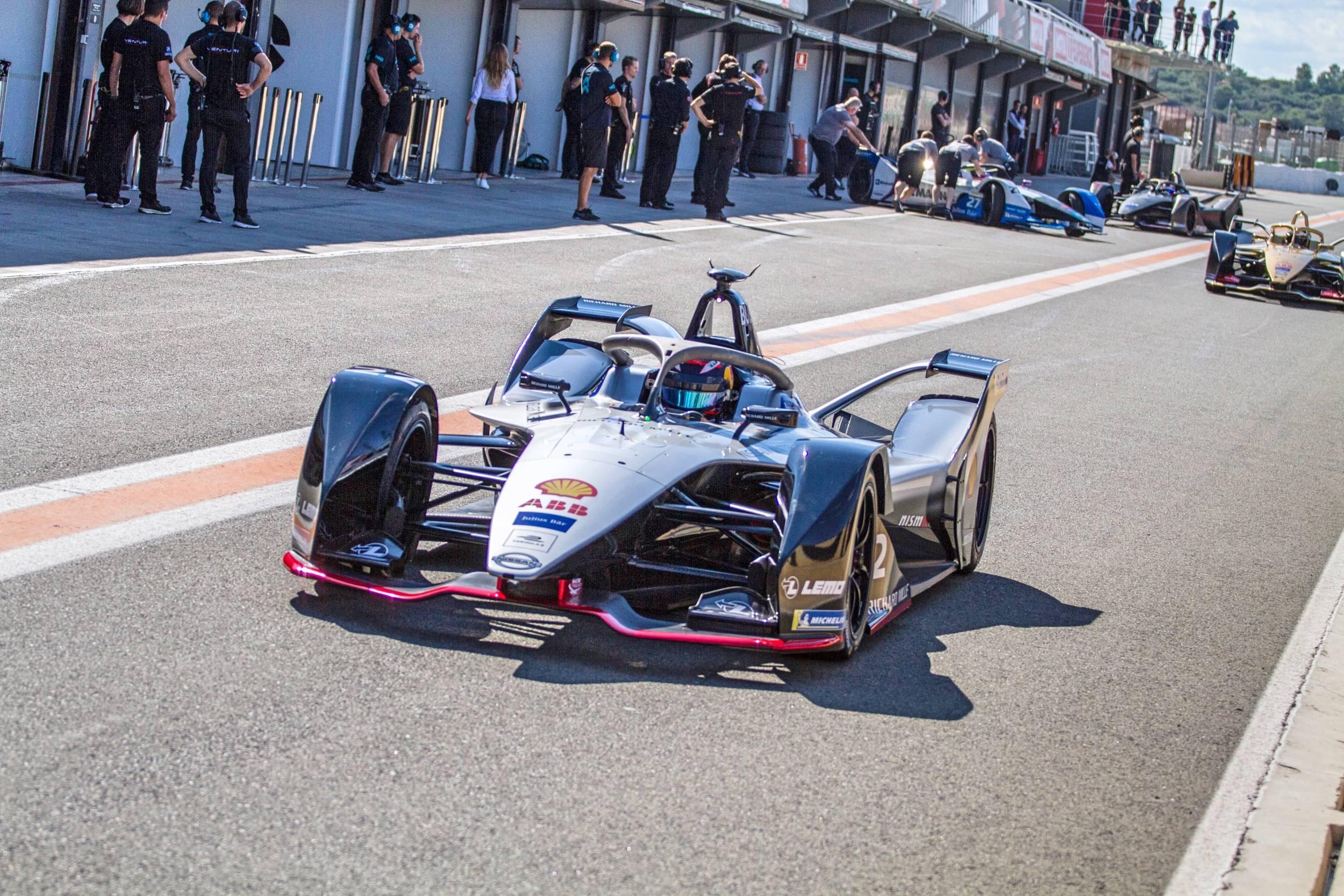 Sebastien Buemi test di Valencia