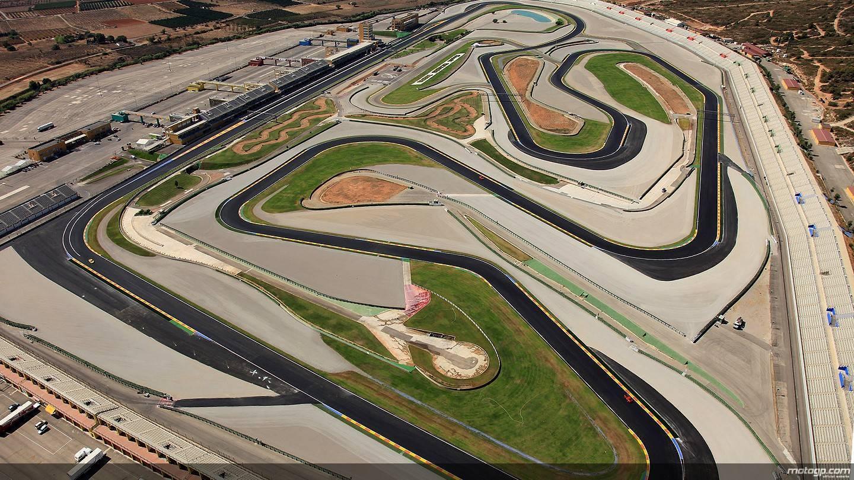 Circuito Ricardo Tormo di Valencia MotoGP