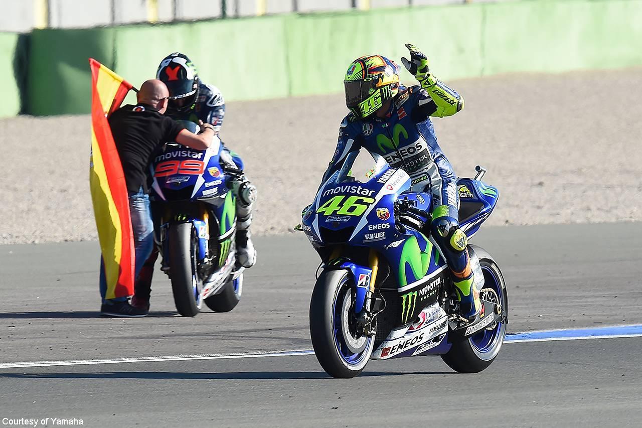 Rossi Circuito Ricardo Tormo di Valencia