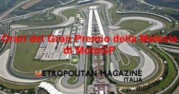 Orari Gran Premio della Malesia