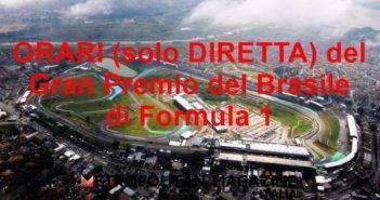 Orari del Gran Premio del Brasile