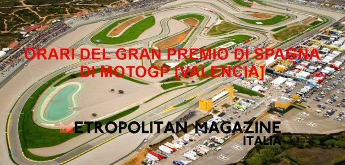 Orari Gran Premio di Spagna di MotoGP