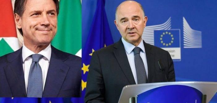 Moscovici dichiara insufficiente la riduzione deficit