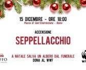 L'albero per WWF Italia promosso da Taffo