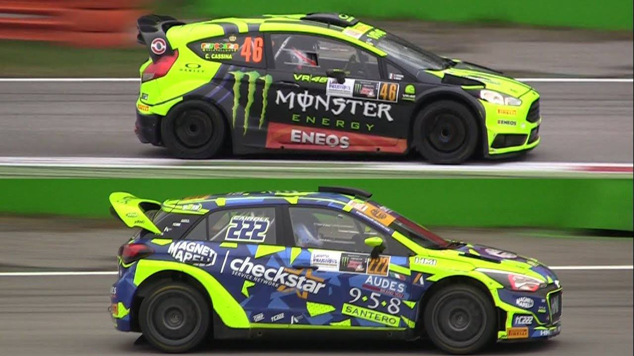 Ranch e Monza Rally Show Rossi vs Cairoli 2017