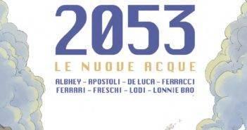 (Copertina di 2053 Le Nuove Acque)