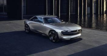 Peugeot E-Legend: il concept del futuro
