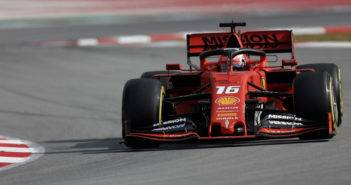 Test Barcellona F1 2019 Day-2 Charles Leclerc