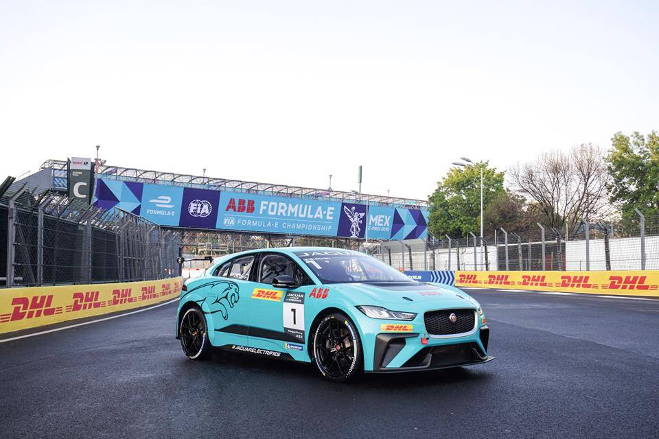 Gara Jaguar eTrophy Mexico city 2019