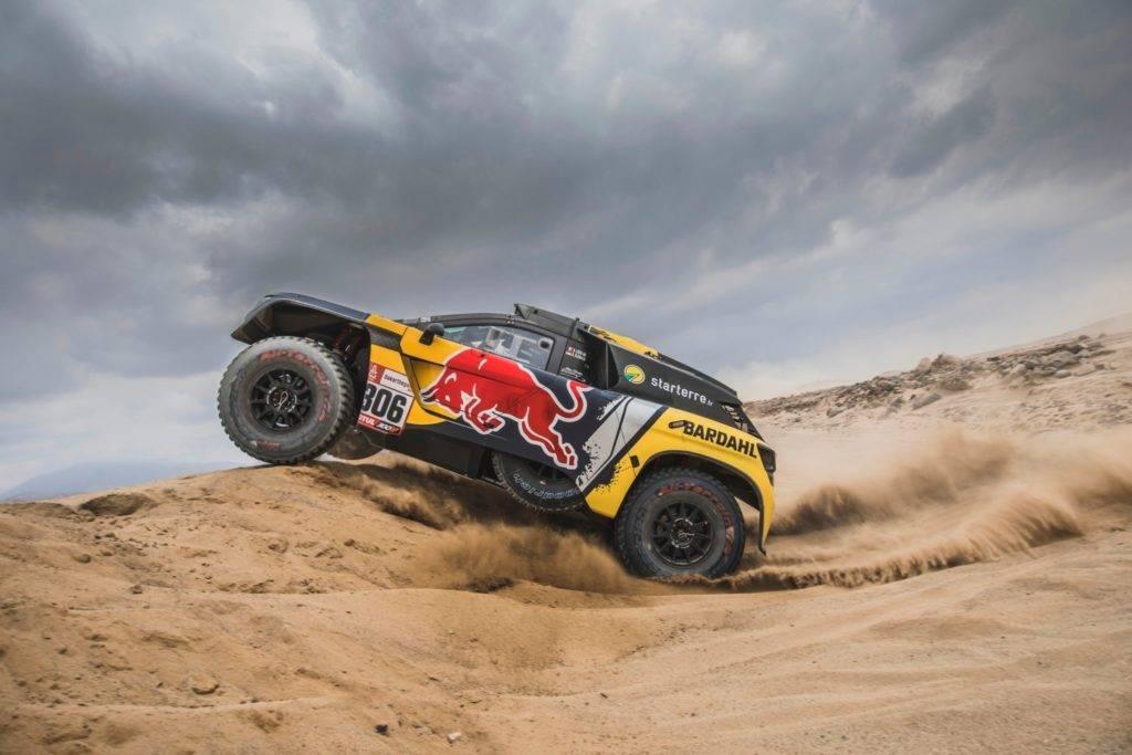 Extreme E as Dakar