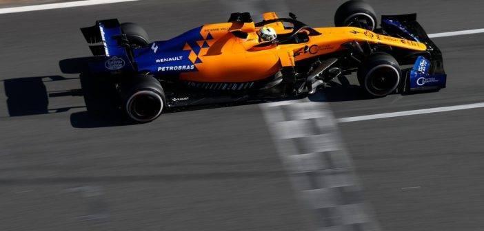 Test Barcellona F1