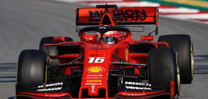 Test 2 Barcellona F1