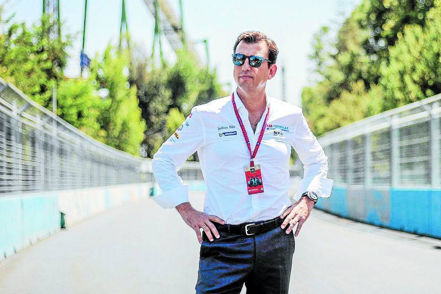 Formula E Santiago Alberto Longo