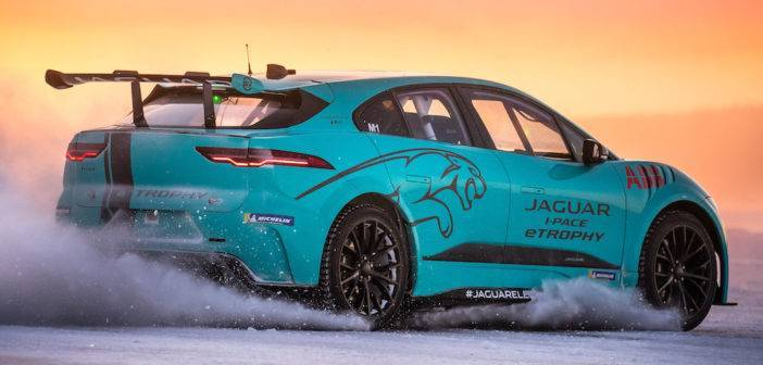 Jaguar eTrophy test Svezia