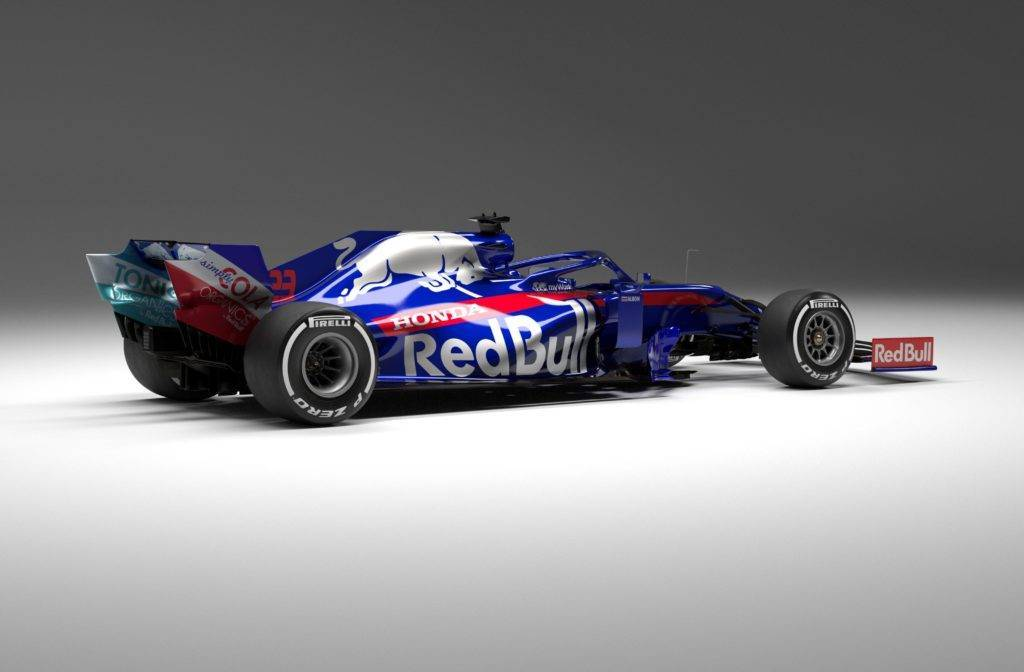 Presentazione Toro Rosso STR14