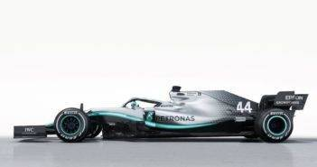 Presentazione Mercedes W10