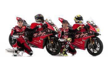 SBK Ducati 2019 Bautista e Davies