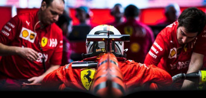 Test Barcellona F1 2019 Vettel