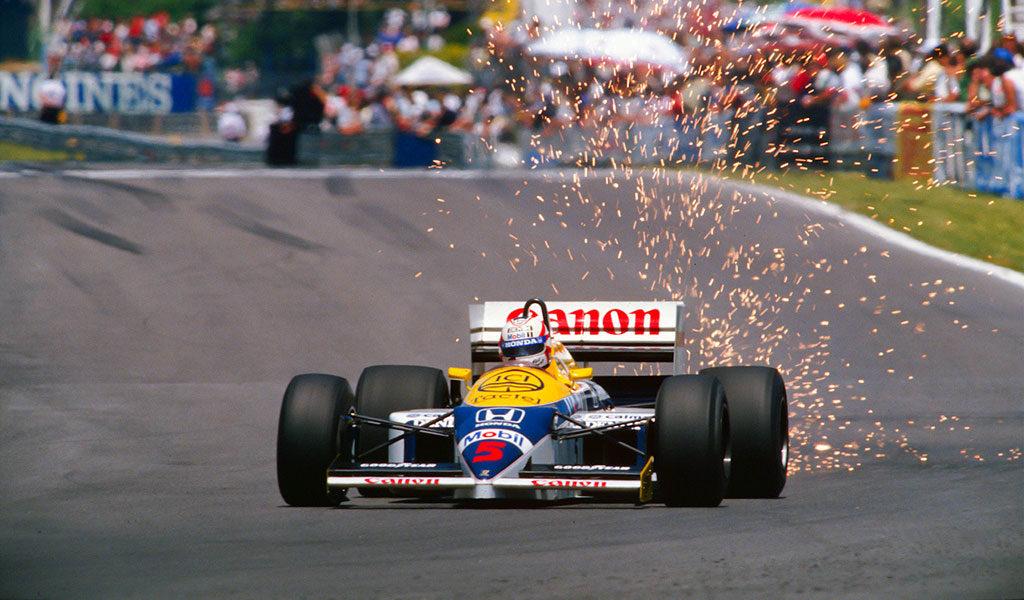 Williams FW11 Nigel Mansell 1986