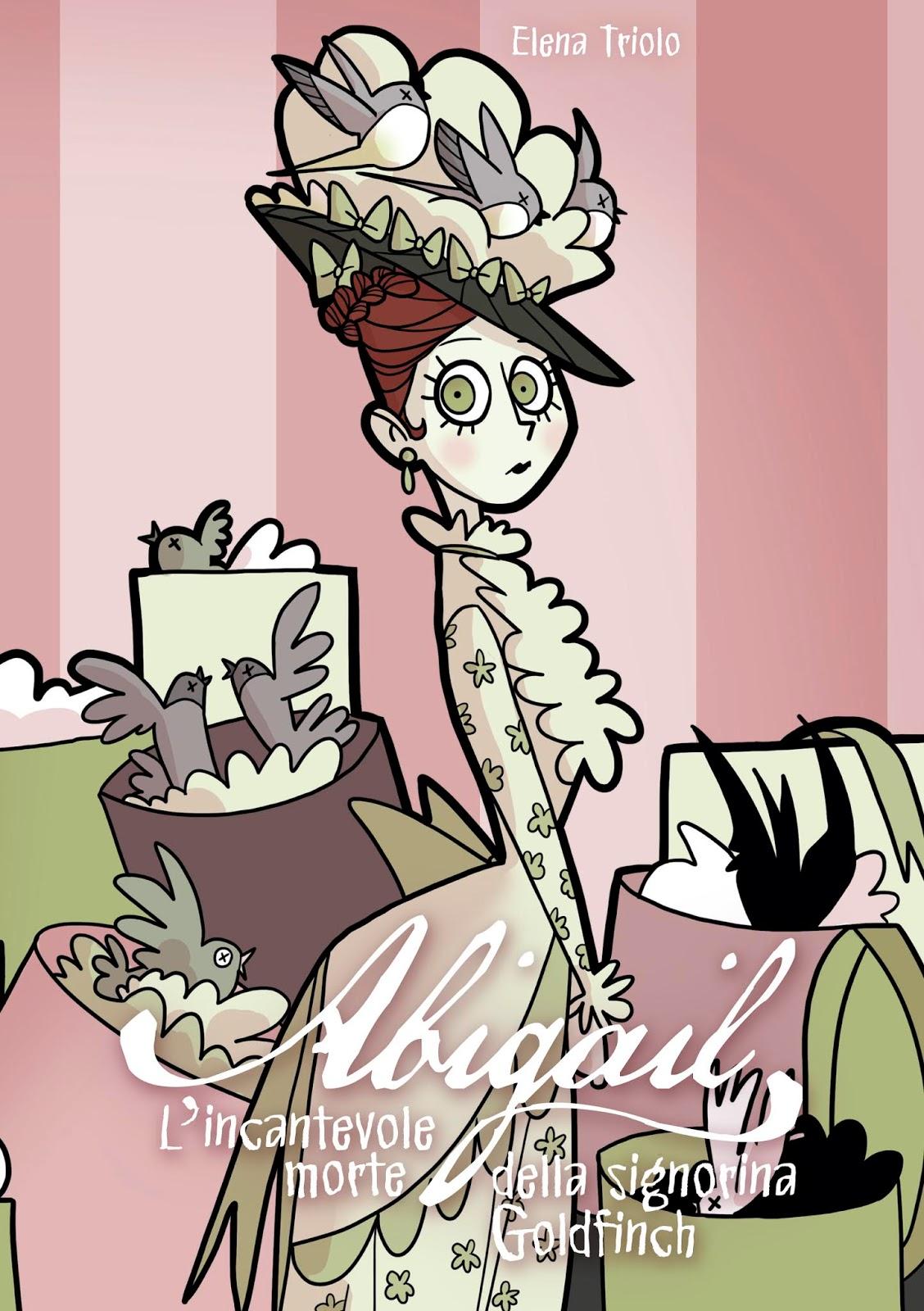 La copertina del fumetto Abigail