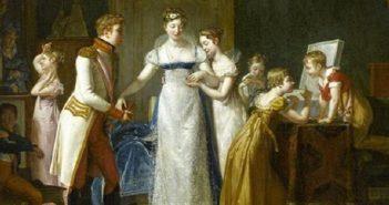 Maria Luigia d'Asburgo viene vestita con abiti francesi prima di partire per sposare Napoleone