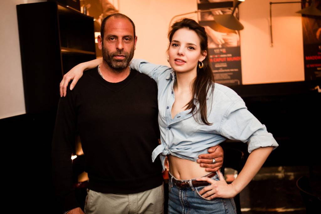 Alessandro Bernardini e Federica Sabatini all'OFFOFF Theatre. Foto Cosimo Sinforini