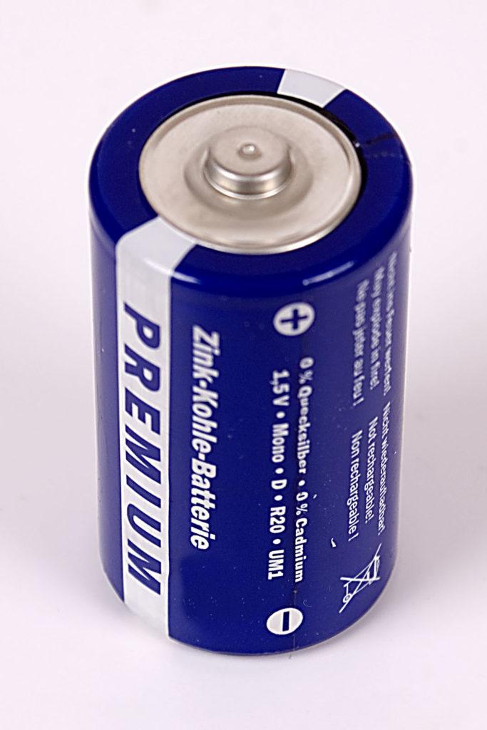 elementi a rischio di estinzione: Le Batteria Zinco-Carbone tra le cause della possibile estinzione dello zinco.
