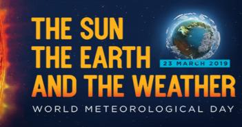 23 marzo: è la giornata mondiale della Meteorologia, la locandina di quest'anno presenta il tema: il sole