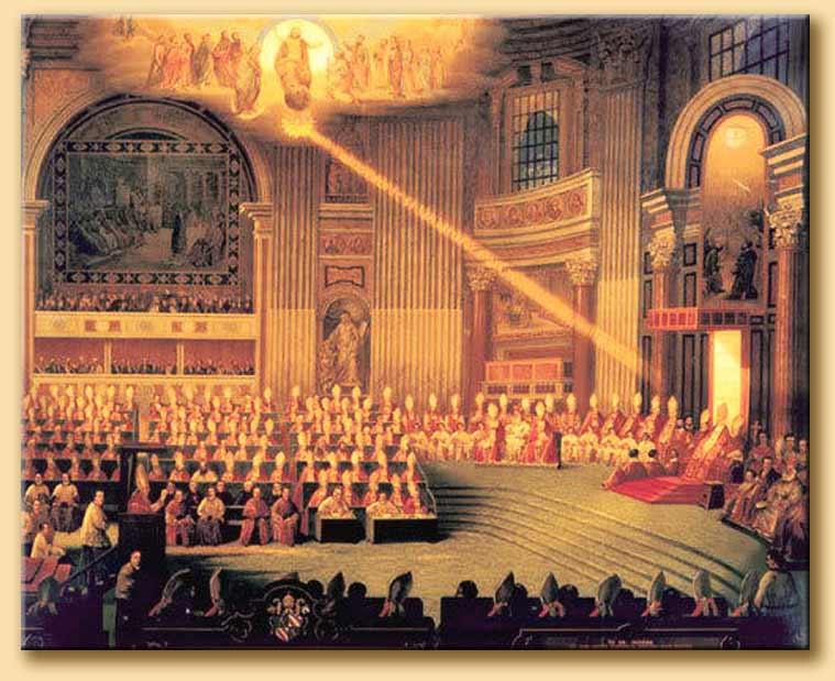 Concilio Vaticano - immagine web MMIToday 18 marzo da Caligola alle cinque giornate di Milano
