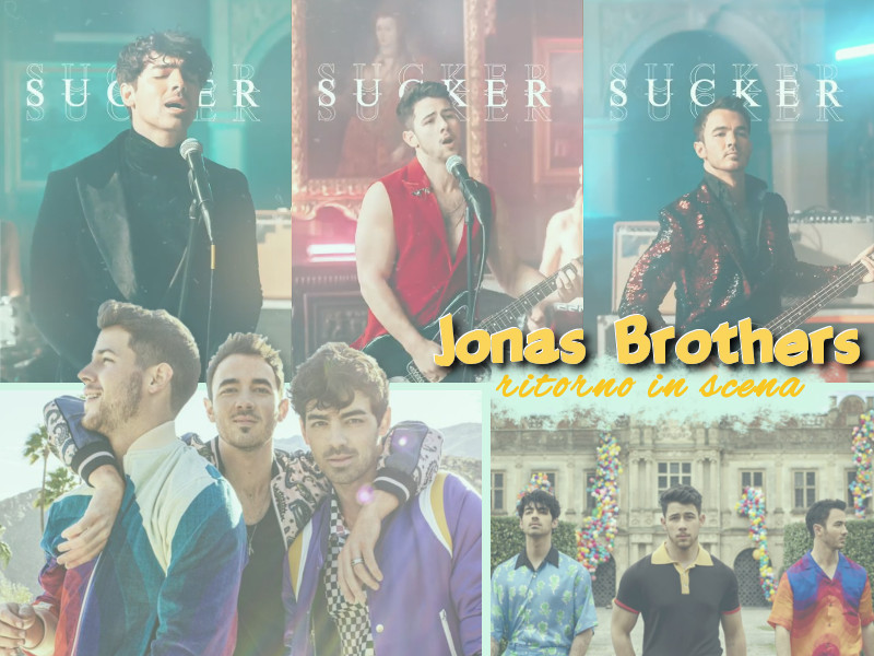 I Jonas Brothers tornano insieme con nuovo singolo: Sucker