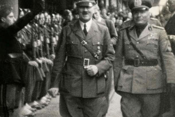 Hitler e Mussolini al Brennero immagine web MMIToday da Caligola alle cinque giornate di milano