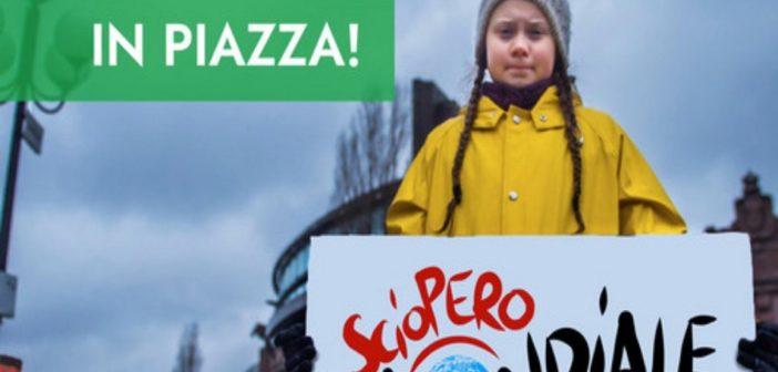 Sciopero mondiale per combattere il cambiamento climatico!