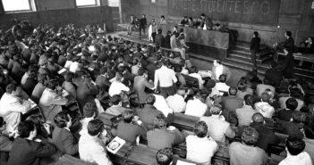 1968. Studenti occupano la Sapienza. (foto dal web)