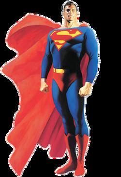 Superman ritratto in stile pittorico da Alex Ross