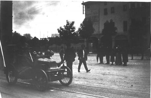 Bologna, 1901 - primo Giro Automobilistico d'Italia. (foto dal web) MMI Today | La giornata mondiale del disegno