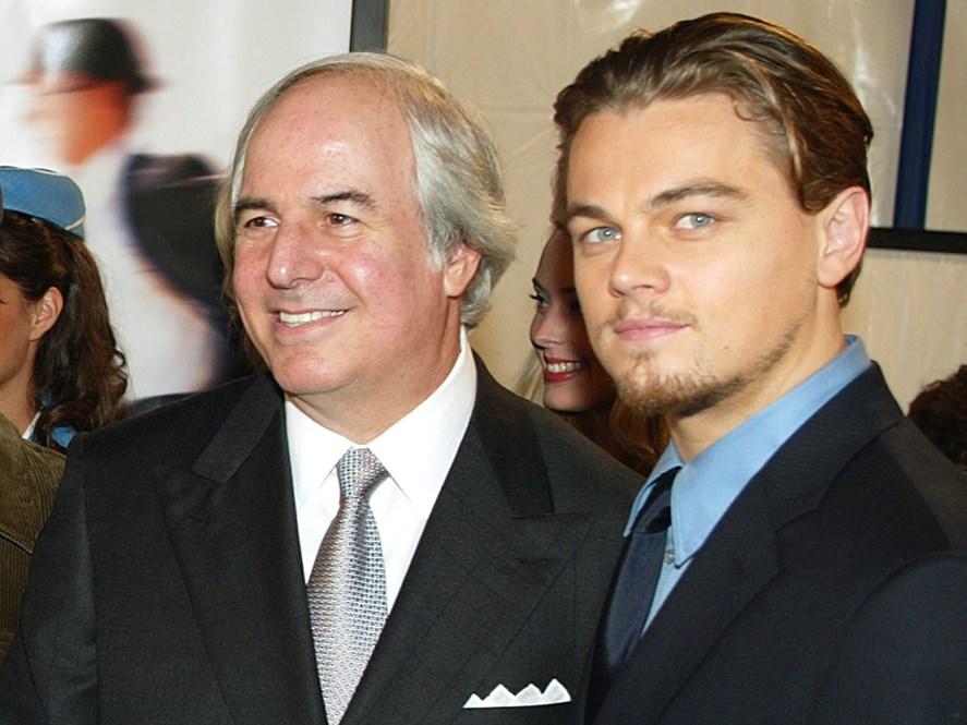 Frank Abagnale Junior con Leonardo diCaprio. (foto dal web) MMI Today | La giornata mondiale del disegno