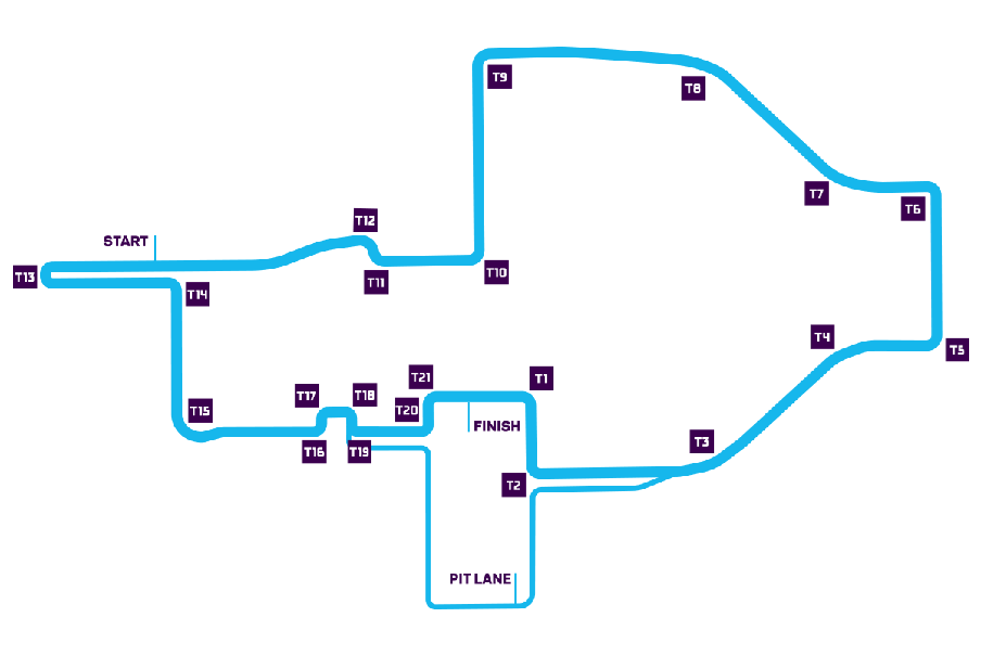 Anteprima ePrix Roma 2019 tracciato