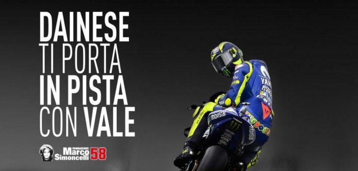 MotoGP   Dainese Riding Masters e Rossi insieme per il Sic