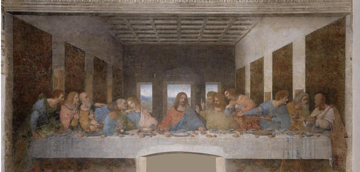L'Ultima Cena di Leonardo, in tema con il Giovedì Santo