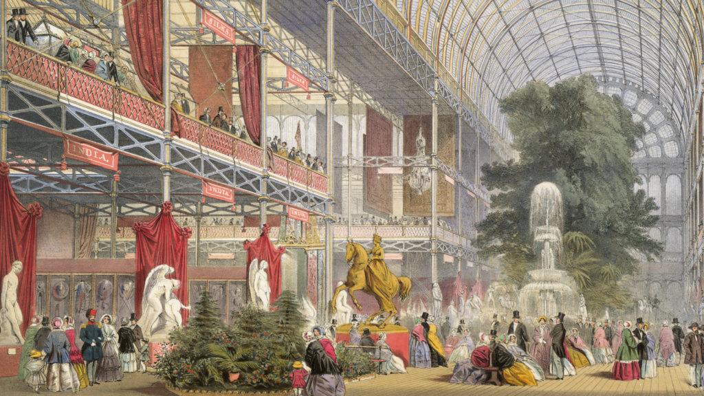 Great Exhibition di Londra (foto dal web) festa dei lavoratori