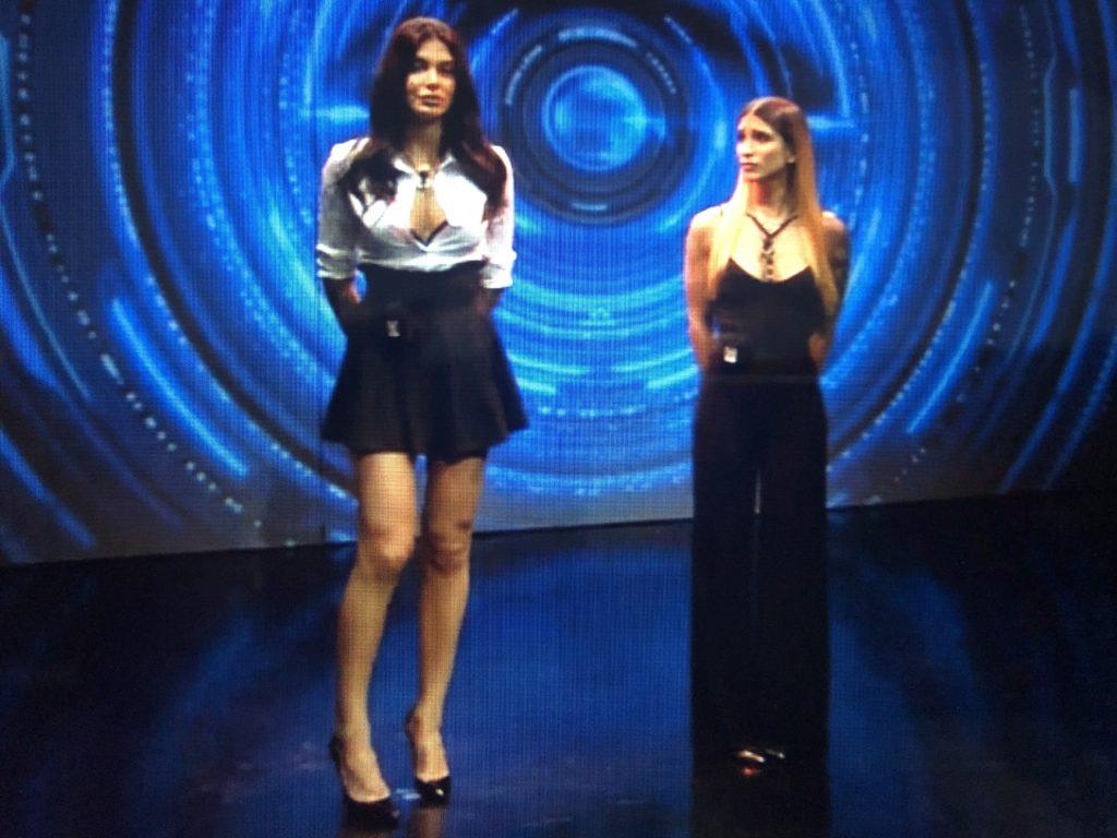 """""""L'eliminazione di Audrey – Photo Credits: www.grandefratello.mediaset.it""""  Grande Fratello 16"""
