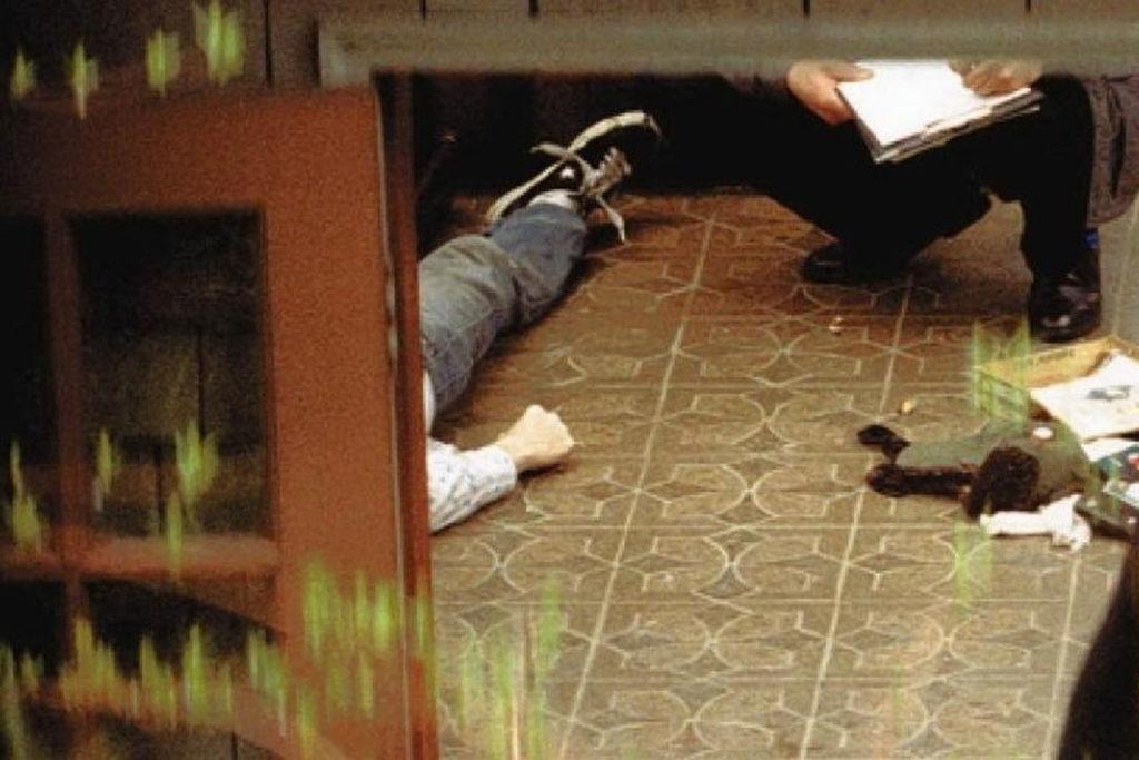 SUICIDE SCENE: La scena del suicidio: 8 aprile 1994  (Fonte:  Dark Horse News )