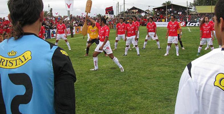 Danza Haka CF Rapa Nui